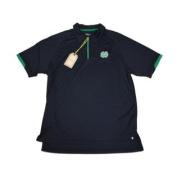 Notre Dame Fighting Irish Chiliwear Navy Performance 1/4 Zip Polo Shirt