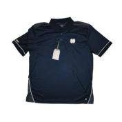 Notre Dame Fighting Irish Chiliwear Navy Grey Performance Golf Polo T-Shirt