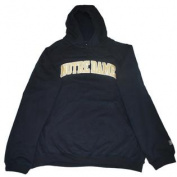 Notre Dame Fighting Irish Navy LS Hoodie Sweatshirt with Pocket