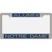 Notre Dame Fighting Irish Metal Alumni Inlaid Acrylic Licence Plate Frame