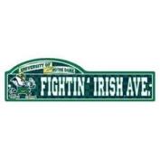 Notre Dame Fighting Irish Street/zone Signs
