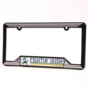 Notre Dame Fighting Irish Licence Plate Frame - Plastic
