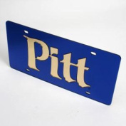 Pittsburgh Panthers Licence Plate - Blue