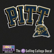 Pittsburgh Panthers Decal - Pittsburgh Panthers Over Mascot