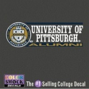 Pittsburgh Panthers Decal - Seal W/ University Of Pittsburgh Over Alumni