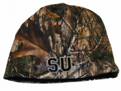 Syracuse Orange TOW Camo Brown Trap 1 Reversible Knit Winter Beanie Hat Cap