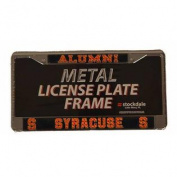 Syracuse Orangemen Alumni Licence Plate Frame In Chrome