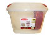 Rubbermaid Easy Find Lid Food Storage Set, 14 Piece Value Pack