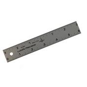 Alumicolor Ludwig Precision 15cm Centre Finding Straight Edge