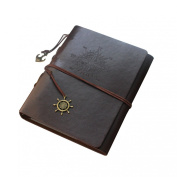 240 Pockets 7.6cm /120 Pockets 13cm /60 Pockets 15cm - 18cm Hand Scrapbook DIY Vintage PU Leather Family Photo Mini Album Book with Belt for Fuji Instax Mini 7S 8 25 50S 90,WIDE 300210Films-Deepbrown