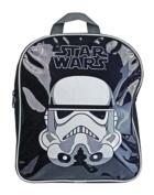 Childrens Star Wars Stormtrooper Boys Bag Junior Black Backpack