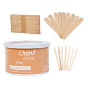Cirepil Ease Wax (410ml) Kit, includes 100 X-Small and 60 Large Applicator Sticks