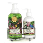 Michel Design Works Botanical Garden Hand Care Caddy, Lotion and Hand Soap