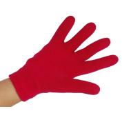 EMILYSTORES Moisturise Soften Repair Cracked Skin Treatment Moisturising Full Gel Gloves Jojoba Oil Vitamin E Spa Magenta 1Pair