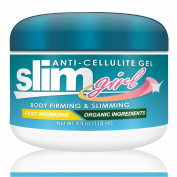 SlimGirl - Anti-Cellulite Gel-Cream. Body firming and slimming cellulite reducing solution. Fast Working. Contains all natural and Organic Ingredients