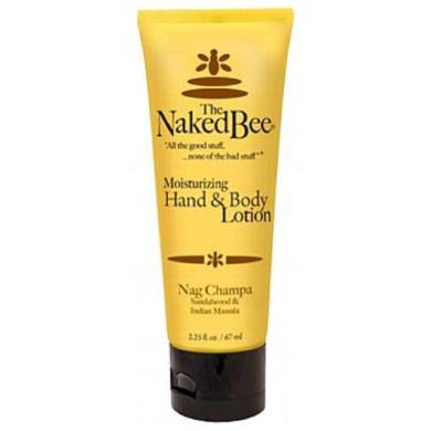 The Naked Bee Nag Champa Moisturising Hand & Body Lotion 70ml