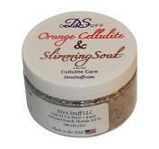 Cellulite and Slimming Salt Bath Soak With Orange Polyphenols,120ml Jar, Diva Stuff