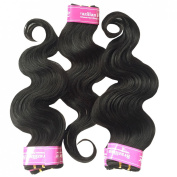 King Love Star Hair Products Unprocessed 4A Human Hair Brazilian Virgin Hair Body Wave Weave 5 Packs 60cm a Lot 250g Brazilian Body Wave 50g/bundle