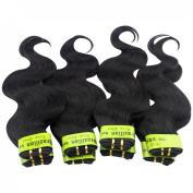 King Love Star Brazilian Body Wave Hair Products 4a Grade Brazilian Virgin Hair Body Wave 6 Packs 60cm 60cm 60cm 70cm 70cm 70cm Human Hair 300g Unprocessed Virgin Hair