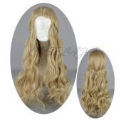 COSPLAZA Long Anime Cosplay Wigs Sleeping Beauty Briar Rose Aurora Hair