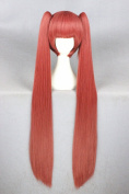 2 Clip Lolita Ponytails Long Women Girl's Halloween Costume Cosplay Wigs