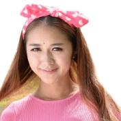 AutumnFall® Tied Bow Loving Heart Headwrap Headband Beauty Hair Styling Accesory