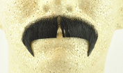 Rubies Winchester Moustache BLACK - no. 2028 - REALISTIC! 100% Human Hair