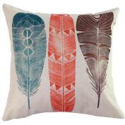 FEITONG 2016 Fashion New Vintage Linen Home Decor Square Pillow Case