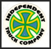 Old Skateboard Sticker INDEPENDENT TRUCK COMPANY