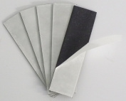 Outdoor/Indoor Acrylic Adhesive 2.5cm x 10cm 60 mil Magnet Strips - 10 Pack