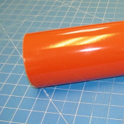 30cm x 3m Roll of Glossy Oracal 651 Orange Vinyl for Craft Cutters and Vinyl Sign Cutters