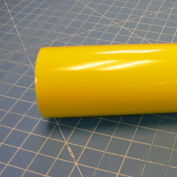 30cm x 3m Roll of Glossy Oracal 651 Yellow Vinyl for Craft Cutters and Vinyl Sign Cutters
