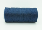 ROYAL BLUE 0.6mm 100% Nylon Twisted Cord Thread Micro Macrame Beading Knitting Crochet Needle Crafts