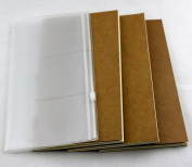 Passion Travellers Journal Refillable paper Traveller Notebook inner booklets white blank paper for 21*12cm