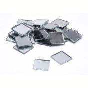 100 Better Crafts Square 3.8cm Mirrors - Can Be Used in Many Craft Projects & Mosaics.