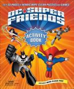 DC Super Friends Wipe Clean Activity Book