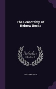 The Censorship of Hebrew Books