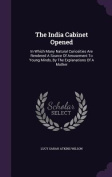 The India Cabinet Opened