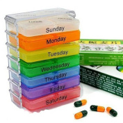 Sunwon® New Portable Weekly 7 Day 28-cell Tablet Pill Medicine Boxes Holder Daily Storage Case Container Organiser