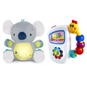 Bright Starts Twinkle Tummy Buddy with Take Along Tunes