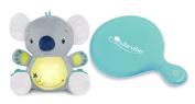 Bright Starts Twinkle Tummy Buddy with Lullavibe Vibrating Mattress Pad