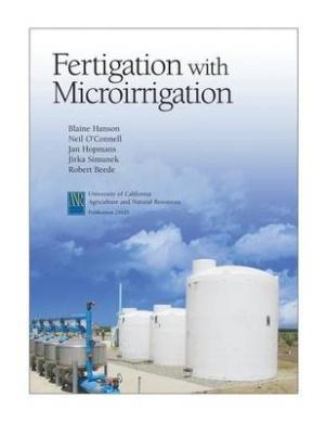 Fertigation with Microirrigation