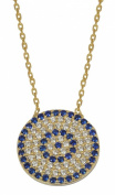 My-jewellery 925 Silver gold plated trend necklace 50cm - 130cm