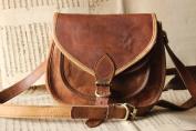 Handmade Craft 23cm X 18cm Brown ,Genuine Leather Women's Bag /Handbag / Tote/purse/ Shopping Bag