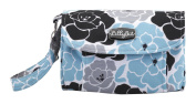 Nat and Jules Blue Floral Nappy Clutch