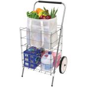 HELPING HAND FQ3915D 2-Wheel Folding Cart with Folding Shelf Home, garden & living