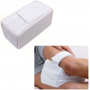 Yosoo Knee Pillow Cotton Cover Knee Ease Pillow Cushion Aid Back Leg Pain Support