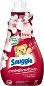 Snuggle Exhilarations Concentrated Fabric Softener Liquid, Cherry Blossom Charm, 32 Fluid Ounce