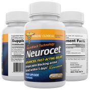Neurocet. Neuropathy Pain Relief Pill with unique pain-blocking action. Nerve support formal with long lasting relief. Contains DL-Phenylalanine for Peripheral Neuropathy treatment