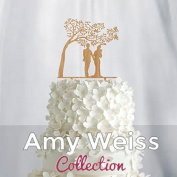 Wedding Cake Topper - Couple with baby - AW1058W